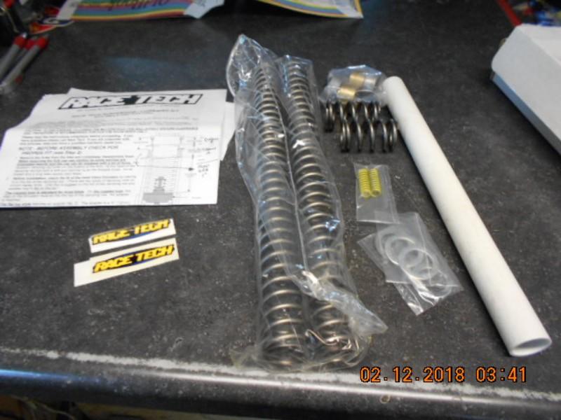 Race Tech Harley Davidson Complete Front End Suspension Kits 41mm