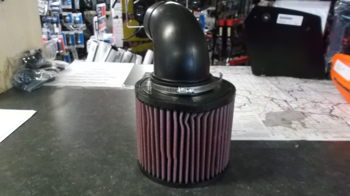 how to clean k and n air filter atv